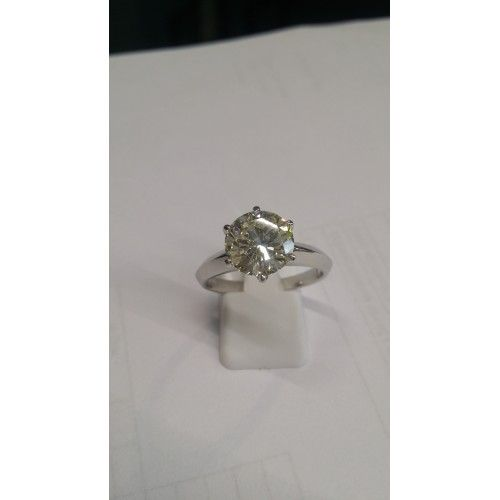 Pierścionek P189 z diamentem 3,22 ct
