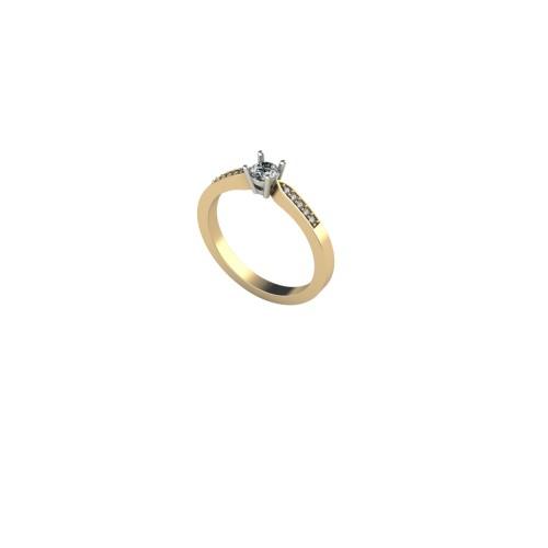 Pierścionek zaręczynowy ZAR 002