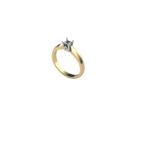Pierścionek zaręczynowy ZAR 003